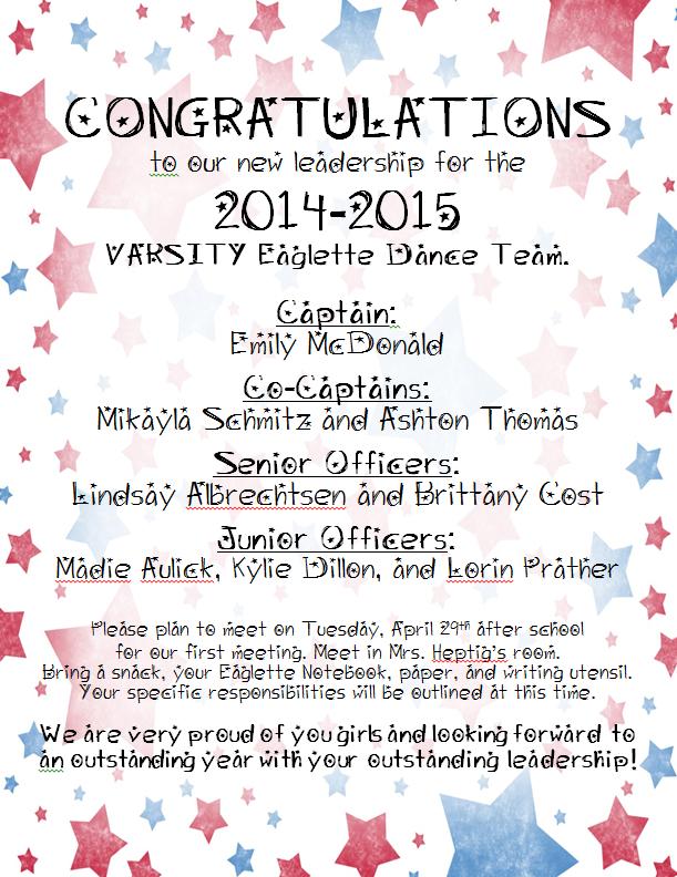 Officer List 2014-15